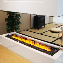 Fireplace Water-Vapor Indoor 3d with Home-Heater 2-Meters Option Burning-Sound