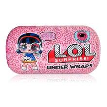 Hot Big Glitter Unpacking LOL Dolls Surprise Figures Action Toys original Ball Novelty For Kids Birthday Christmas Gift