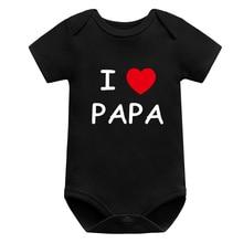 Baby Bodysuit Jumpers Short-Sleeve Girl Newborn Children Fashion Boy Print Toddler