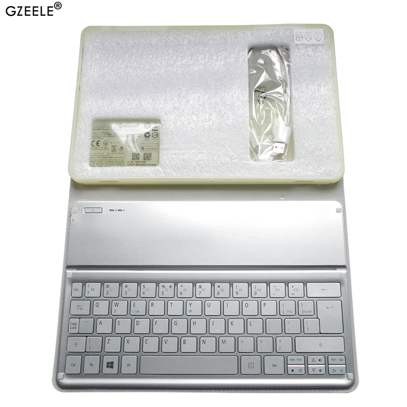 NEW For Acer W700 W701 P3-171 P3-131 KT-1252 Keyboard Silver US Layout Wi-Fi Bluetooth Keyboard 11' Inch