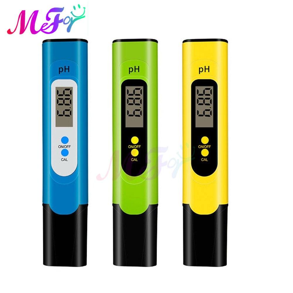 Digital LCD PH Meter Pen of Tester Accuracy 0.01 PH Aquarium Pool Water Wine Urine Automatic Calibration PH Meters  - AliExpress