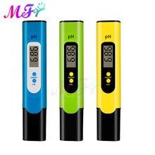 Dijital LCD PH ölçer kalem Tester doğruluk 0.01 PH akvaryum havuz suyu şarap İdrar otomatik kalibrasyon