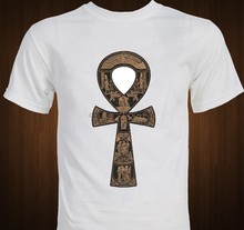 Ankh Symbol Egyptian Artifact Ancient Egypt T Shirt Men Casual 100% Cotton Tee Usa Size S 3Xl(China)