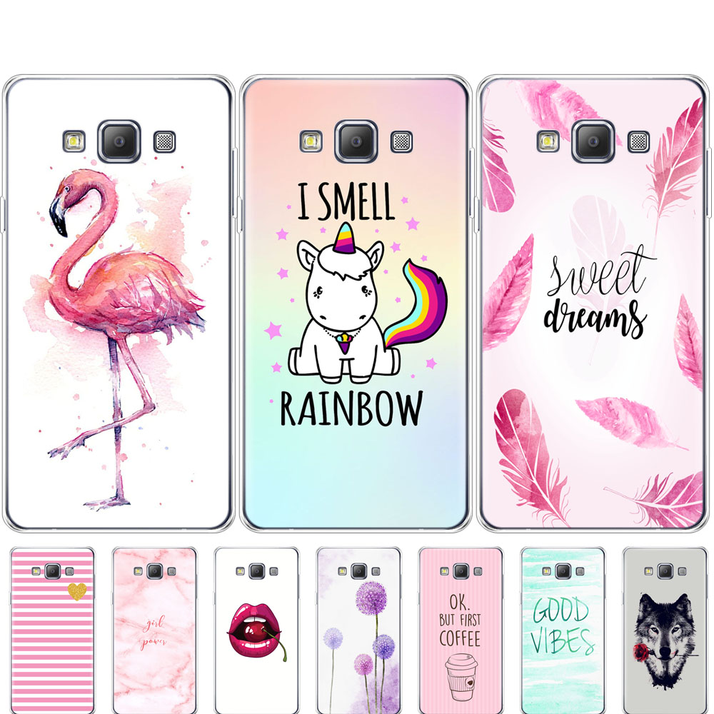 Case For Samsung Galaxy A3 2015 A300 A300F Cover Case Soft TPU Silicon Phone Back Cover For Samsung A3 2015 A300 Case Covers