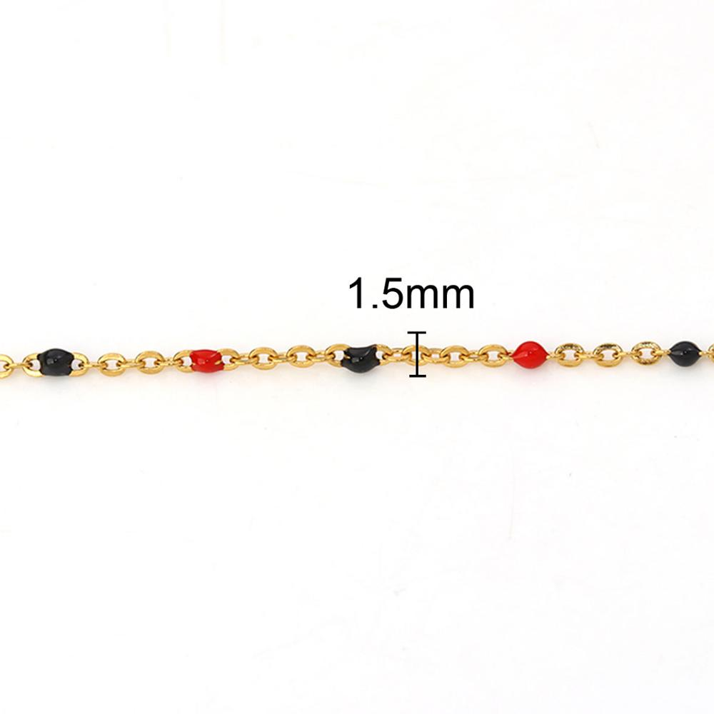1pcs Colorful Enamel Metal Round Moon Star Pendant Charm Necklace w// 50cm Chain