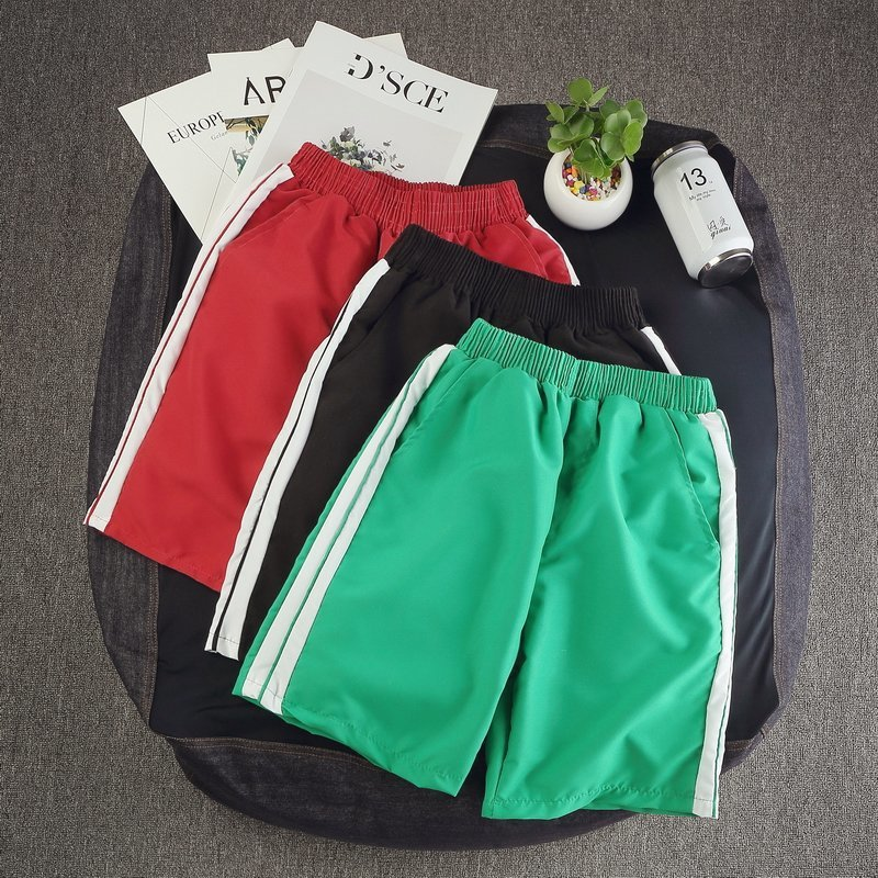 2018 Summer New Style INS Super Fire Pants Athletic Pants Loose And Plus-sized Beach Shorts Popular Brand Shorts Men's