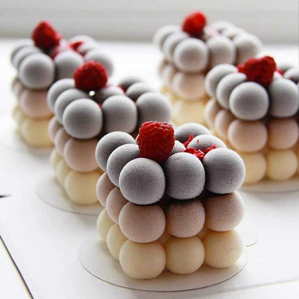 3D Silikon Bentuk Buah Kue Cetakan DIY Baking Tray untuk Mousse Dessert Cetakan Apple Lemon Pear Ceria Coklat Kue Cetakan