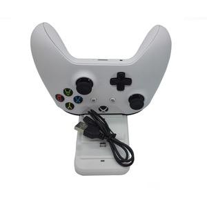Image 3 - デュアル充電ドックステーションコントローラxbox oneワイヤレスゲームパッド急速充電器usbスタンドベースクレードルxboxものコントローラ