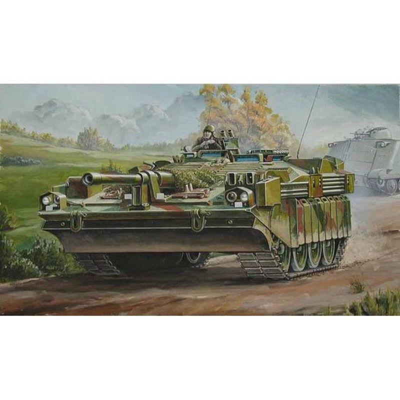 Trumpeter 00310 1/35 Sweden Strv 103C MBT Scale модельный комплект Наборы для сборки моделей      АлиЭкспресс