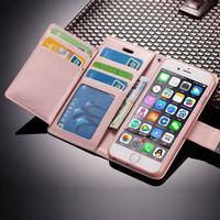 Caso di vibrazione Del Raccoglitore per Il IPhone 7 8 6S 6 Plus 5 5S SE2 2020 Premium Cuoio Della Copertura Del Telefono per Il IPhone 11 12 Pro X Xr Xs Max 12 Mini
