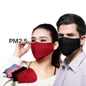 Usable PM2.5 Mouth Healthy Mask Cotton Haze Valve Anti-dust Breathing Mask Activated Carbon Filter Respirator Mouth-muffle Mask pm2 5 anti haze mask breath valve anti dust mouth mask activated carbon filter respirator mouth mask free 2 pcs air filter m40