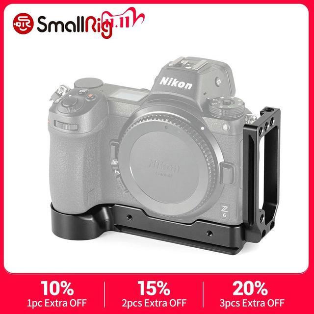 SmallRig DSLR камера Z6 L Пластина быстрого крепления L образный кронштейн для Nikon Z6 и для камеры Nikon Z7 с пластиной Arca Stlye 2258
