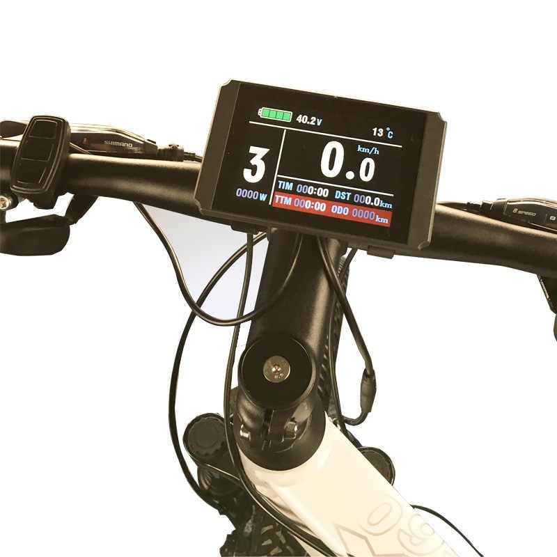 BOLLFIT Kunteng KT กันน้ำ E จักรยานอุปกรณ์เสริมไฟฟ้าจักรยานจอแสดงผล LCD8H USB กันน้ำ