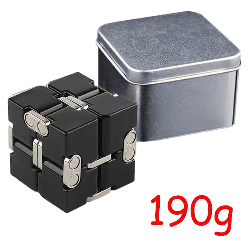 Cube-Toys Infinity-Cube EDC Metal Relief Magical Anxiety Aluminium for Deformation Premium img3