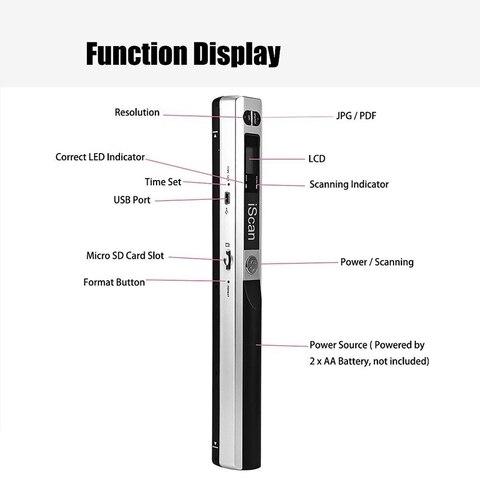 900 dpi usb 20 display lcd suporte