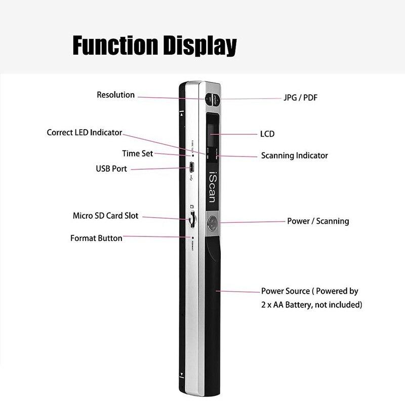 900 dpi usb 2.0 display lcd suporte