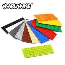 MARUMINE – plaque de base de Construction pour enfants, 6x16, jouet éducatif, jeu de Construction, modèle 3027