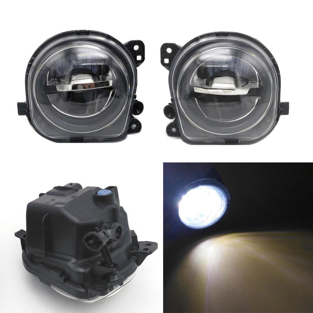 2Pcs LED DRL Fog Lamp Light For BMW X6 F16 M F86 2014 2015 2016 63177317251 252