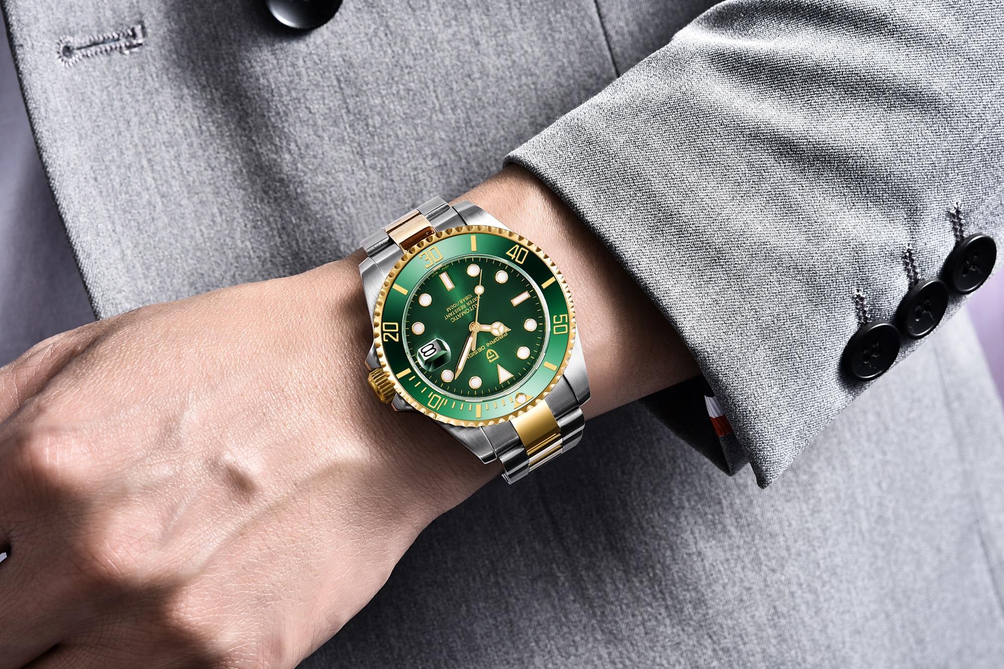 Pagani design marca de luxo relógios masculinos