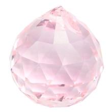 Bola Feng Shui Rosa cristal Vintage 30mm