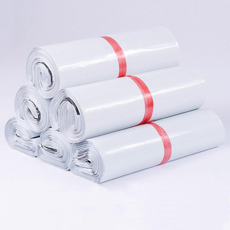 Sacos de armazenamento de envelope expresso, 50 pçs/lote sacos de embalagem auto adesivo vedação pe sacos de plástico 24 tamanhos