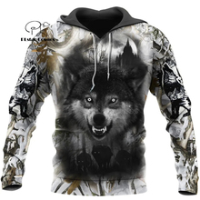 Wolf Printed Hoodies Men 3d Hoodies Brand Sweatshirts Jackets Quality Pullover Fashion Tracksuits Animal Streetwear Out Coat-11 hampson lanqe animal wolf printed men hoodies sweatshirts 2019 warm fleece coat brand punk hoodie harajuku men s jackets cm01