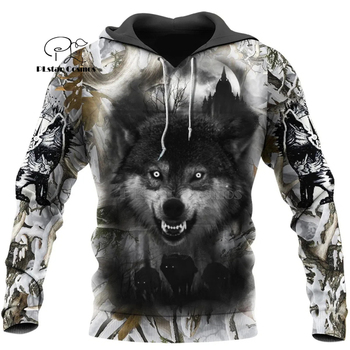 Wolf Printed Hoodies Men 3d Hoodies Brand Sweatshirts Jackets Quality Pullover Fashion Tracksuits Animal Streetwear Out Coat-11 plstar cosmos new 3d printed hoodies sweatshirts men women funny clothes pullover coat brand tracksuits suicide boy hoodies