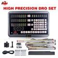 HXX 3 оси dro GCS900-3DB + с 3 шт. 5u 50-1000 мм цифровые линейные весы токарный станок Dro комплект