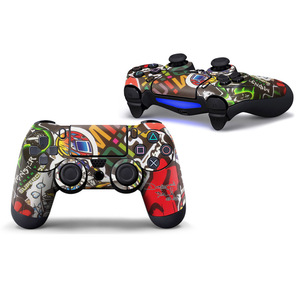 Image 2 - Iron man PVC Custom Sticker Case Protector For Sony for PS4 Playstation 4 Dualshock Controller