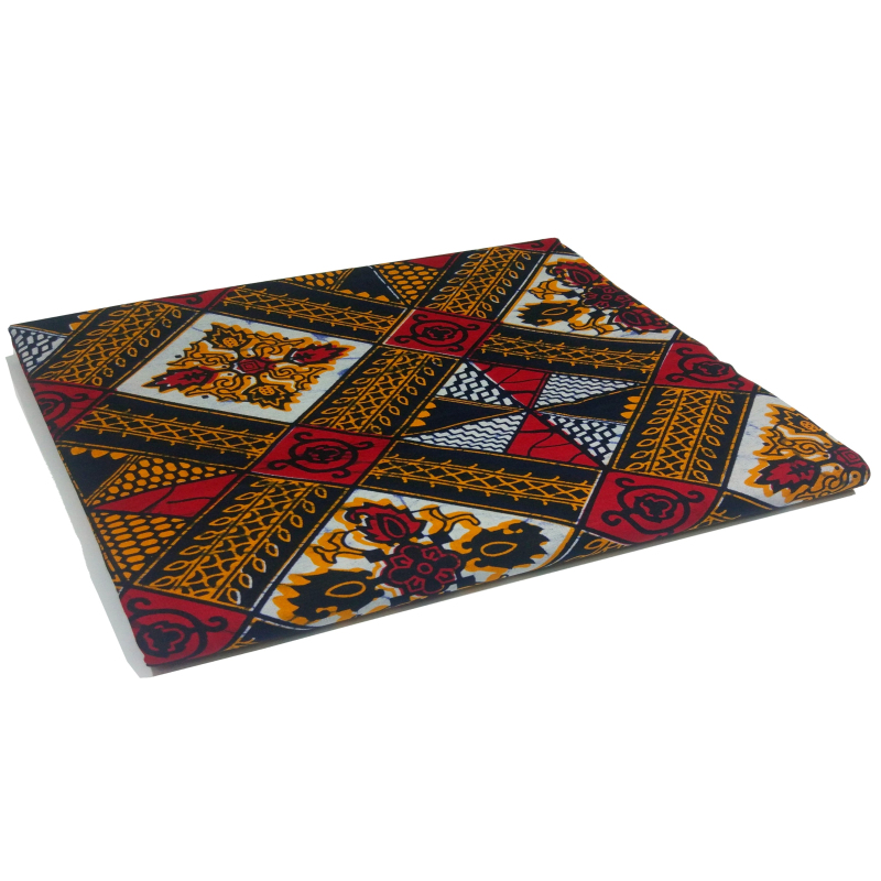 African Wax Veritable Wax Tissus Guaranteed Real Dutch Wax High Quality Pagne Wax Tissus 6yards African Ankara Material Fabric