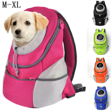 Outdoor Pets Cat Dog Front Backpack Carrier Travel Bag Bleathable Mesh Pet Double Shoulder Backpack Carrying Shoulder Pack Puppy outdoor pets cat dog front backpack carrier travel bag bleathable mesh pet double shoulder backpack carrying shoulder pack puppy