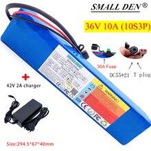 36 В литиевый аккумулятор + 42 в 2 а DC55 * 21 зарядное устройство для скутеров, электрических велосипедов, встроенный 30 А BMS и устройство-предохран...