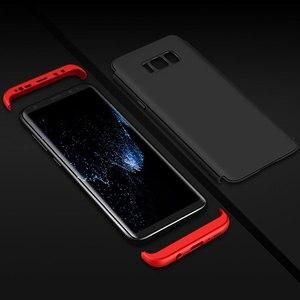 Image 5 - 360 Full Bảo Vệ Ốp Lưng Điện Thoại Samsung Galaxy S20 S10 S9 S8 Plus S10 S7 Edge Chống Sốc Dành Cho Note 10 9 Trường Hợp (Không Có Kính)