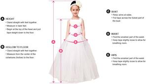 Image 5 - Flower Girls Dresses For Weddings Scoop Ruffles Lace Tulle Pearls Backless Princess Children Wedding Birthday Party Dresses