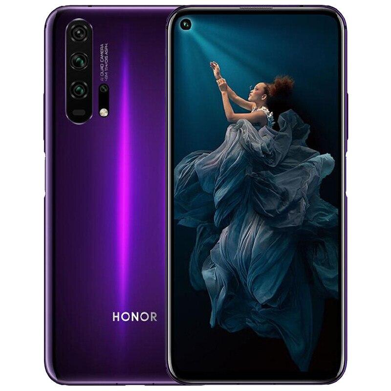 "Image 3 - Honor 20 Pro Global Rom Smartphone Kirin 980 Android 9 6.26"" IPS 2340X1080 8GB RAM 128GB ROM 48.0MP+32.0MP Fingerprint NFC PhoneCellphones   -"