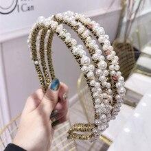 Vintage Colorful Rhinestone Jewel Hairband