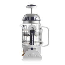 Coffee Pot 960ml Home Mini Star Wars R2-D2 Manual Coffee Maker French Pressed Coffee Pot Portable Coffee Maker Turkish Coffee(China)