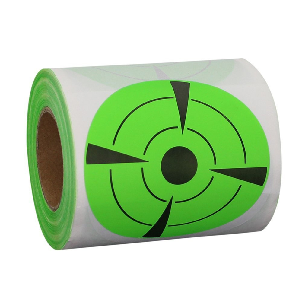 125Pcs/Roll Shooting Adhesive Targets Splatter Reactive Target Practice Sticker For Gun Rifle Pistol Binders Accessories N1