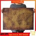 Старая карта мира огромный большой Винтажный стиль ретро бумажный постер украшение для дома подарок