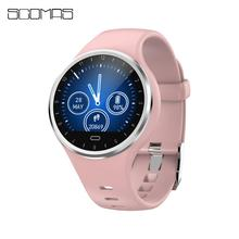 SCOMAS Smart watch women IP67 waterproof Activity tracker Fitness bracelet with Blood pressure Monitor Heart Rate