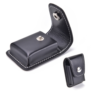 1Pcs Leather Cover For Zippo Windproof Cigarette Lighter Box Holder Bag Small Gift Box Case