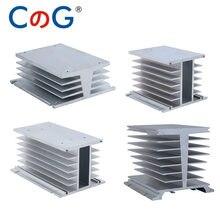 CG Kühler Für Drei Phase Solid State Relais 10A 25A 40A 60A 80A 100A 120A 200A Aluminium Kühlkörper Mit 12VDC 24VDC 220VAC Fan