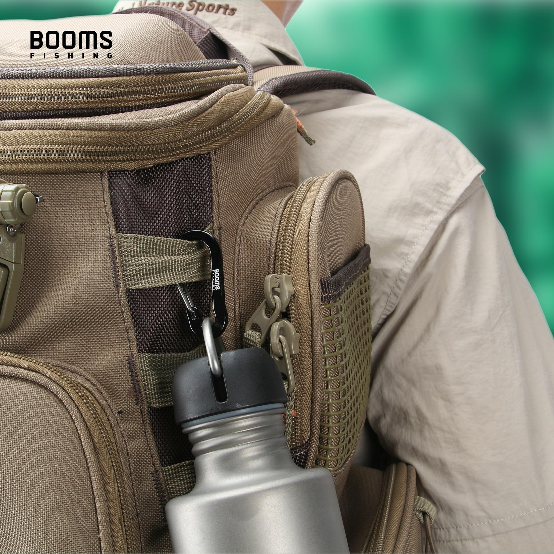 Booms Fishing CC1 petits mousquetons en acier, Camping en plein air, multi-outils, accessoires de pêche, 6 pièces 5