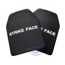 2pc STA Shooter Cut NIJ III Livello Piatto A Prova di Proiettile Anti ballistic Piatto In Ceramica