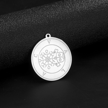 Dawapara List of Demons In The Ars Goetia Vintage Solomon Pendant for Necklace Amulet Stainless Steel Accessories Wholesale image