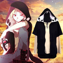 Kagerou Project MekakuCity Actors Kano Hoodie + T shirt Cosplay Fashion Heat Haze Project Cosplay Costume