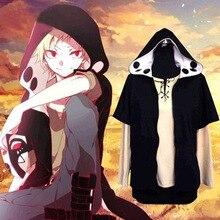 Kagerou projet MekakuCity acteurs Kano sweat à capuche + T shirt Cosplay mode chaleur brume projet Cosplay Costume