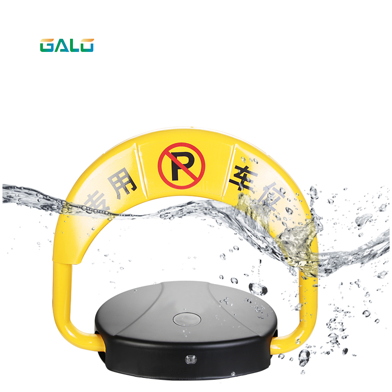 Parking Barrier Space Fence Lock 2 Remote Controls Without Parking Space Parking Pile Dual Battery Smart Sensor Waterproof  Lock