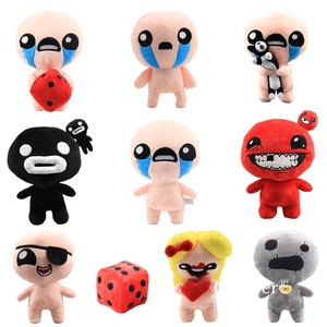 plush doll toys The Binding of Isaac Afterbirth Rebirth Game plush Isaac Keeper,Super Meat Boy,Magdalene doll toys Gift 28-30 cm(China)