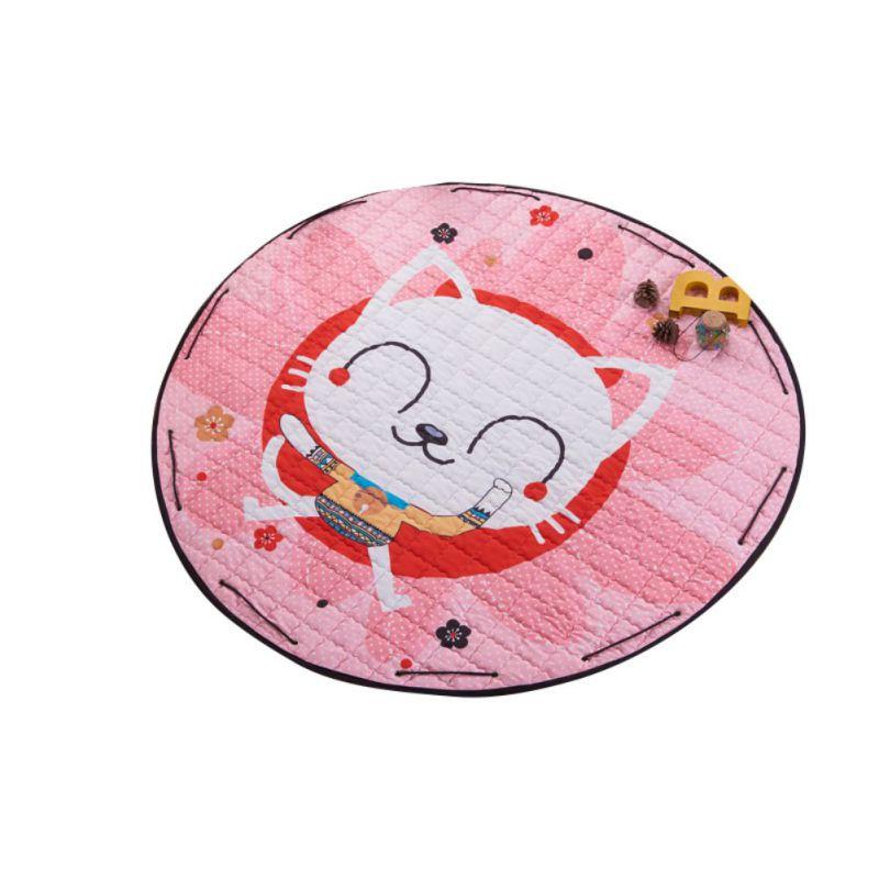 Children Cartoon Pattern Play Mat Blanket Non-Slip Baby Floor Game Crawling Rugs Mat